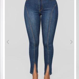 Cute fashion nova jeans